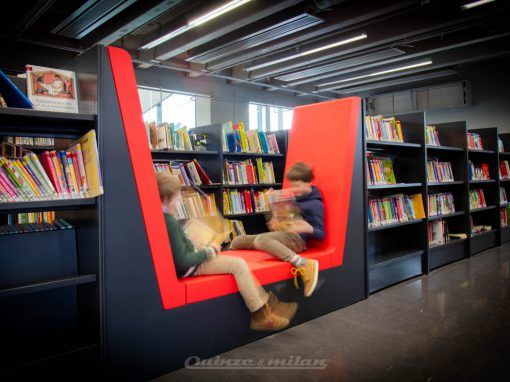 De Munt Roeselare – children library