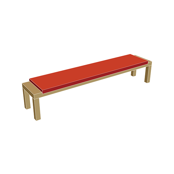 campingbench250withcushion